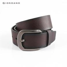Beli Giordano Men Basic Sabuk Kulit 75132521 Brown Intl Giordano Murah