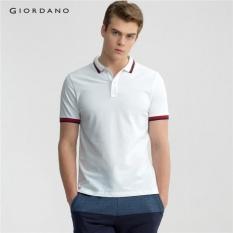 Giordano Pria Tapered Fit Polo 01016232 Putih-Internasional