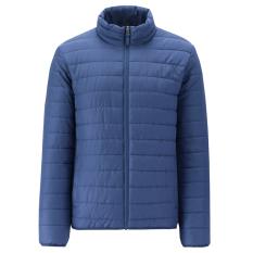 Giordano Mantel Sederhana Baju Katun Pria Musim Gugur atau Musim Dingin (73 Yang Mendalam Safir Biru)