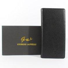 Giorgio Agnelli akbar distro - Dompet Kulit Pria - Hitam - Kulit Asli - GA Milling 589 Black