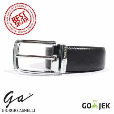 Review Terbaik Giorgio Agnelli Ikat Pinggang Kulit Hitam Pria Giorgio Agnelli 026B Black