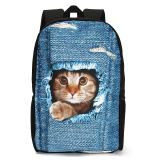 Harga Anak Anak Laki Laki Lucu 3D Kucing Anjing Tas Ransel Tas Sekolah Tas Ransel Tas Buku Perjalanan Internasional Yang Murah