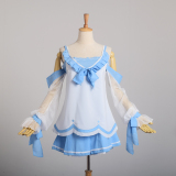 Jual G*rl S Cosplay Silor Dress Blue Import