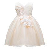 Promo Girls Princess Partai Tutu Dress Champagne Intl Tiongkok