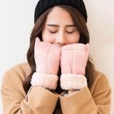 Gadis Wanita Ladies Tangan Pergelangan Tangan Winter Hanging Leher Thicken Panas Hangat Sarung Tangan Intl Tiongkok Diskon 50