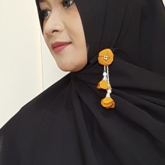 Gita Sukma Brooch Bros Juntai Dagu Hijab - Desain A
