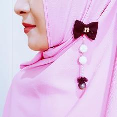 Gita Sukma Brooch Bros Juntai Dagu Hijab - Desain B