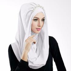 Gita Sukma Hijab Deeja Pearly Kerudung Instan - Putih