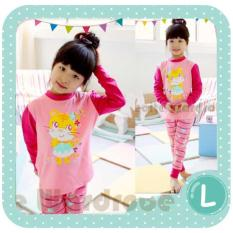 Toko Gleoite Wardrobe Piyama Anak Perempuan Kitty Pink Lengkap Di Dki Jakarta