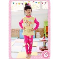 Spesifikasi Gleoite Wardrobe Piyama Sweet Dreams Kuning Lengkap Dengan Harga