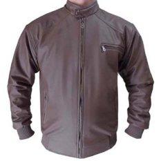 Review Pada Global Jaket Kulit Pria Style Cokelat Tua