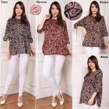 Harga Glow Fashion Atasan Blouse Kemeja Tunik Wanita Jumbo Shirt Blus Long Tunik Grista Yang Murah