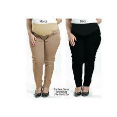 Glow Fashion Celana hamil panjang wanita jumbo long pant Jesica