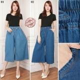Spesifikasi Glow Fashion Celana Kulot Pendek 7 8 Wanita Jumbo Short Pant Chika