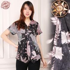 Glow Fashion Couple batik atasan blouse kemeja Abaya kebaya wanita jumbo short Cindya