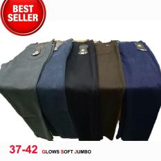 Promo Glows Jeans Grey Celana Panjang Jumbo Size 337 38 39 40 41 42 Celana Panjang Wanita Big Size Super Jumbo Celana Soft Jeans Tebal Stretch Melar Celana Jumbo Model Pencil Jawa Timur