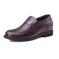 Beli Gn75987 2 36 Inches Lebih Tinggi Kulit Asli Meningkatkan Ditinggikan Pantofel Bisnis Formal Kasual Sepatu ヒᆲ Brown Cicil
