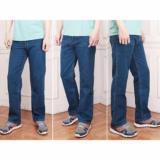 Cuci Gudang Gnz Celana Jeans Standar Pria Panjang