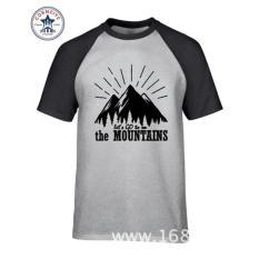 Diskon Besargo To Mountains Cotton T Shirt