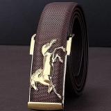 Harga Gold Horse Leisure Leather Strap Pria Bisnis Sabuk Gesper Logam Belt Co Intl Online Tiongkok