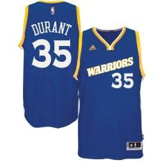 Cuci Gudang Golden State Warriors 35 Swingman Player Kaus Basket Kevin Durant Nba Pria Bernapas Dewasa Tinggi Kualitas Chase Baju Atasan Mode Biru Ukuran S Intl