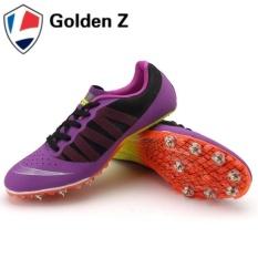 Iklan Golden Z Running Track Paku Sepatu Ungu Nbsp Intl