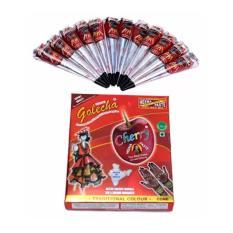 Golecha Henna Cone Cherry Merah - 12pcs