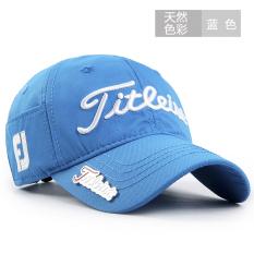 Diskon Golf Topi Model Biasa Korea Fashion Style Pria Topi Olahraga Luar Rumah Ji Klasik Model Biru Akhir Tahun