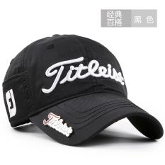 Harga Golf Topi Model Biasa Korea Fashion Style Pria Topi Olahraga Luar Rumah Ji Klasik Model Hitam Termurah