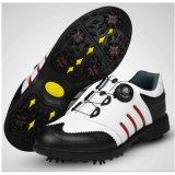 Spesifikasi Golf Sepatu Pria Aktivitas Nail Sepatu Tahan Air Lapisan Pertama Kulit Twisted Tali Sepatu Paling Bagus