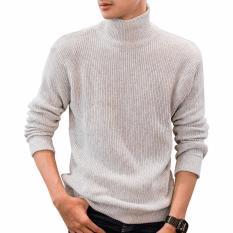Diskon Gomuda Sweater Rajut Cord Turtleneck Putih Gomuda Jawa Barat