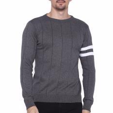 Harga Gomuda Sweater Rajut Pria O Man Abu Tua Gomuda Jawa Barat