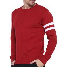 Harga Gomuda Sweater Rajut Pria O Man Merah Gomuda Ori