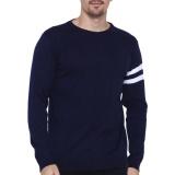 Spesifikasi Gomuda Sweater Rajut Pria O Man Navy Yang Bagus