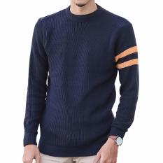 Promo Gomuda Sweater Rajut Pria O Neck Cord Navor Akhir Tahun