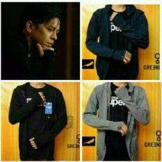 Jual Good Design Jaket Rajut Ariel Green Light Sweater Knite Premium Branded Murah