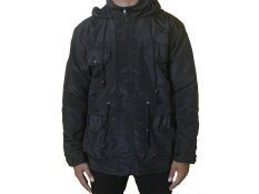 Goodmans Jaket Parka Simple Hitam Taslan