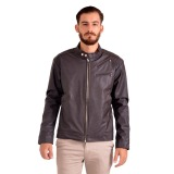 Harga Goog On Jaket Pria Leather Coklat Cool Coklat Gd 69 Murah