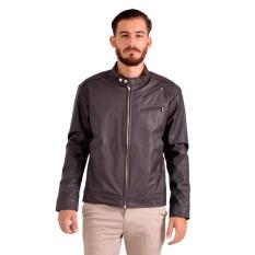 Harga Goog On Jaket Pria Leather Coklat Cool Coklat Gd 69 Asli