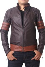 Diskon Goog On Leather Jacket Brown List New Edition Goog On Indonesia