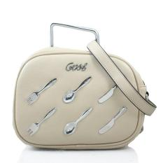 Gosh Casual Hand Bag 105 Beige