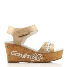 Gosh Casual Wedges Slingback Sandals 102 Rose Gold