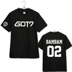 Harga Got7 2017 Baru Lengan Pendek T Shirt Hitam Bambam Intl Baru