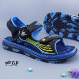 Review Toko Gp Gold Pigeon Kids Sandals Elast Blue G7628B 22