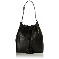 GPL/ Fossil Claire Drawstring, Black/ship from USA - intl
