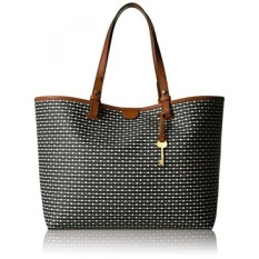 Harga Gpl Fossil Rachel Tote Black Stripe Ship From Usa Intl New