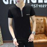 Beli Gracefulvara Mark T Kemeja Pria Slim Fit Crew Neck Proyek 12 Pakaian T Shirt Kasual Kemeja Pria Intl Terbaru