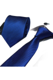 Beli Gracefulvara Men Business Striped Suits Tie Jacquard Woven Necktie 58 Royalblue Secara Angsuran