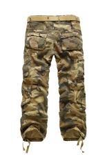 Spek Gracefulvara Tentara Pria Kargo Pants Militer Multi Kantong Celana Kamuflase Warna Sprei Katun Internasional