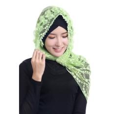 Gracefulvara Wanita Wanita Muslim Jilbab Syal Dalam dan Lembut Dyefashion Syal-Internasional